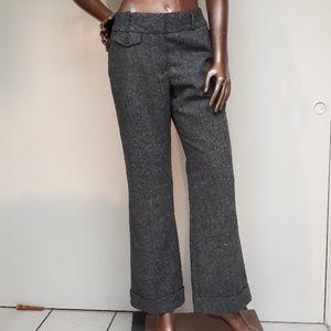 NWOT Ann Taylor Loft Tweed Wool Trousers